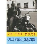 A strapping young Oliver Sacks on his bike.