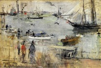 seascape by morisot